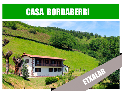 Casa rural bordaberri