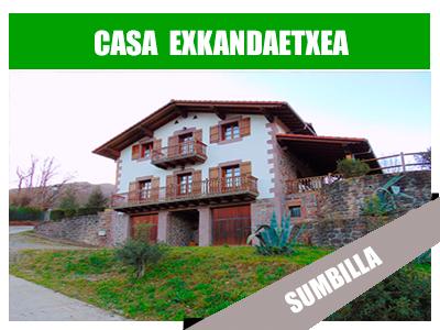 Casa rural exkandaetxea