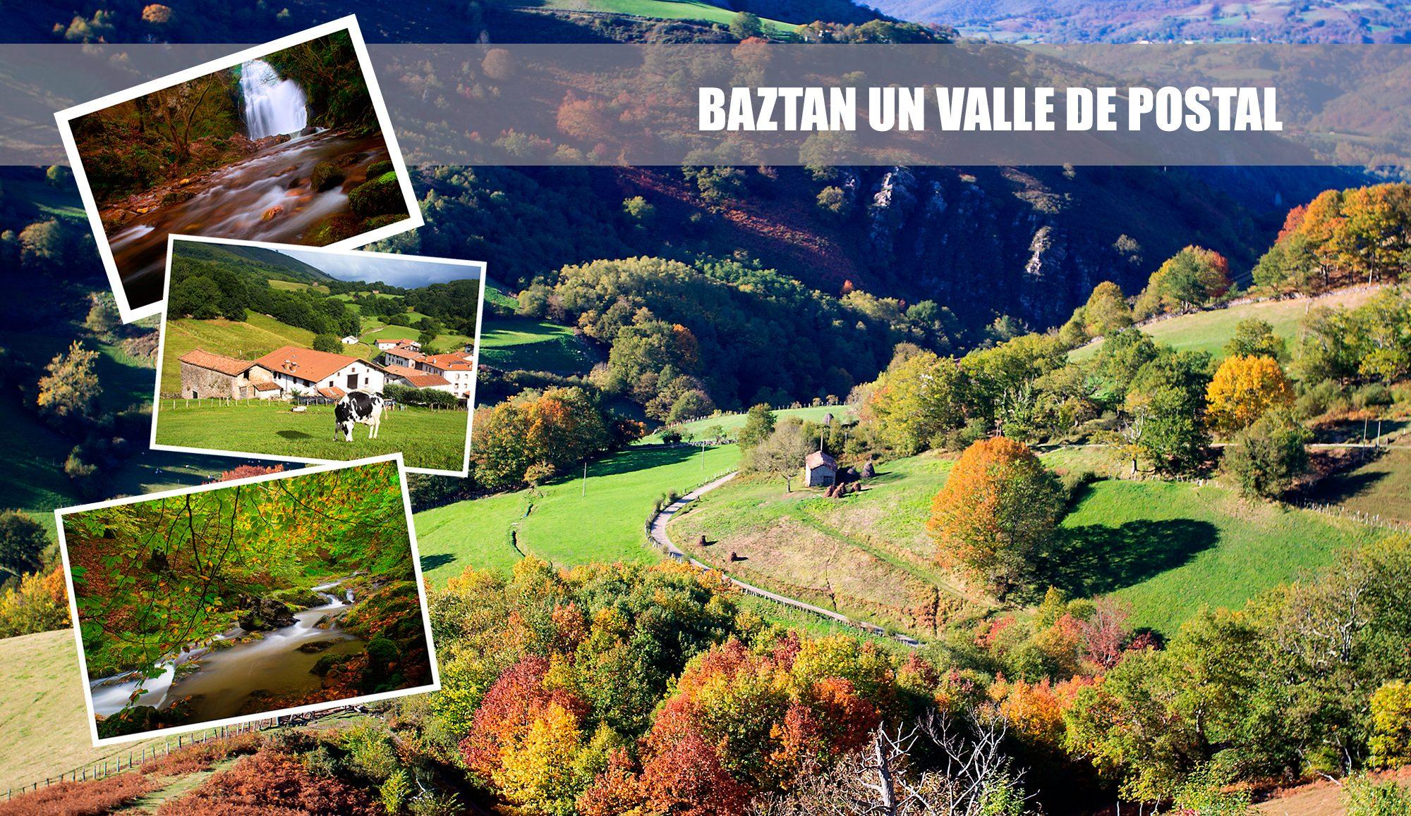 Valle del baztán pirineo navarro fotos caseríos